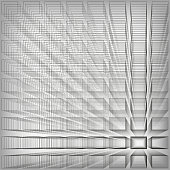 Gray color abstract infinity background, 3d structure with rectangles forming