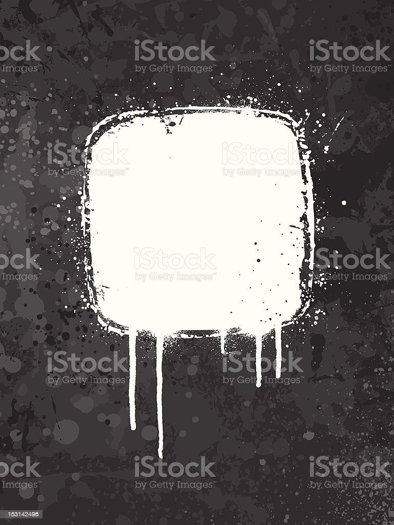 Gray grunge background vector art illustration