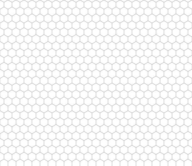 Pattern Clip Art Vector Images Illustrations iStock – Hexagon Graph Paper