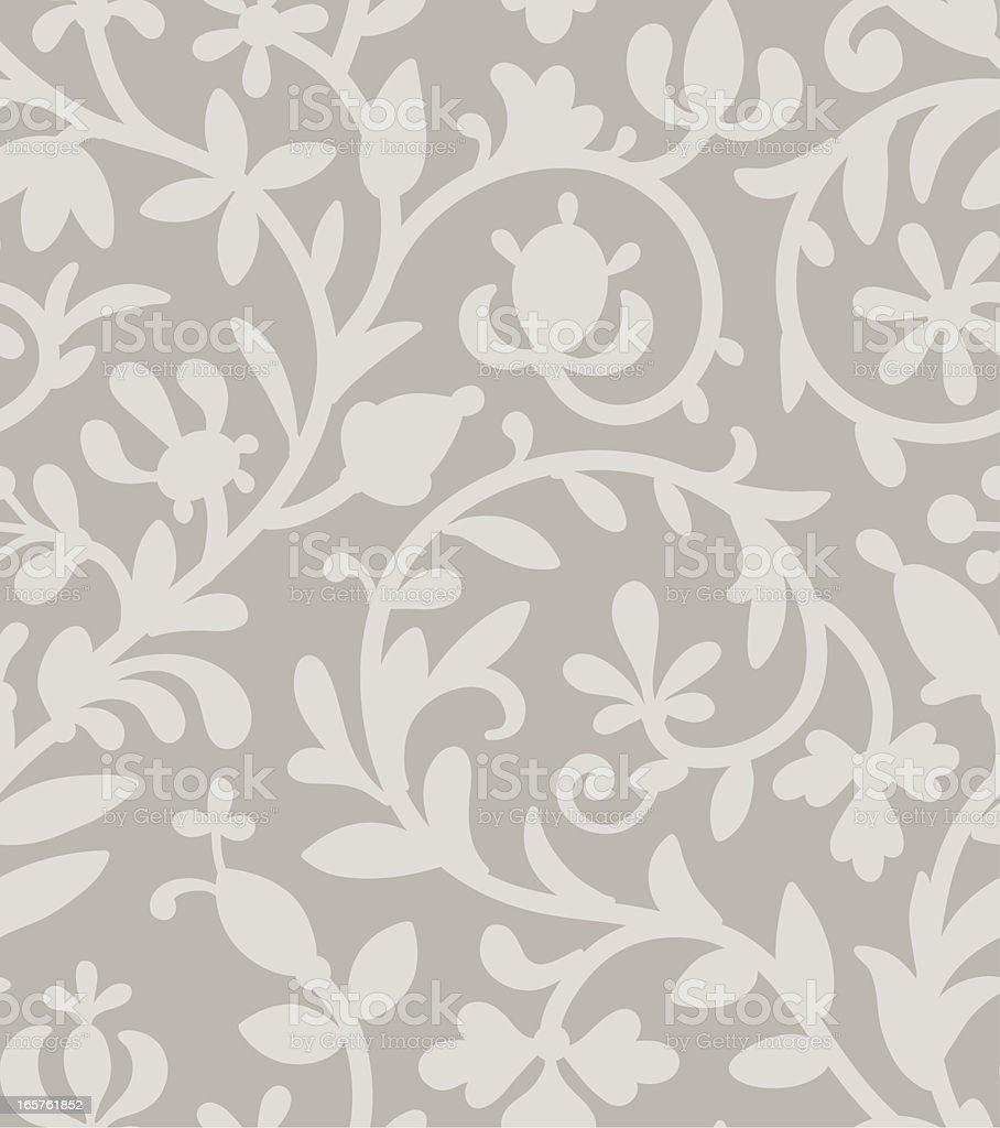 Gray seamless pattern. vector art illustration
