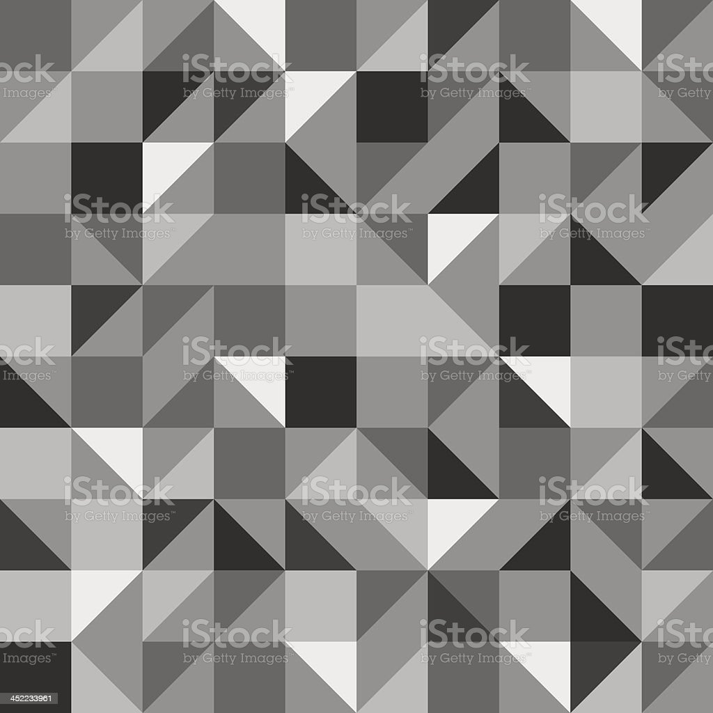 Gray shaded geometric background pattern royalty-free stock vector art