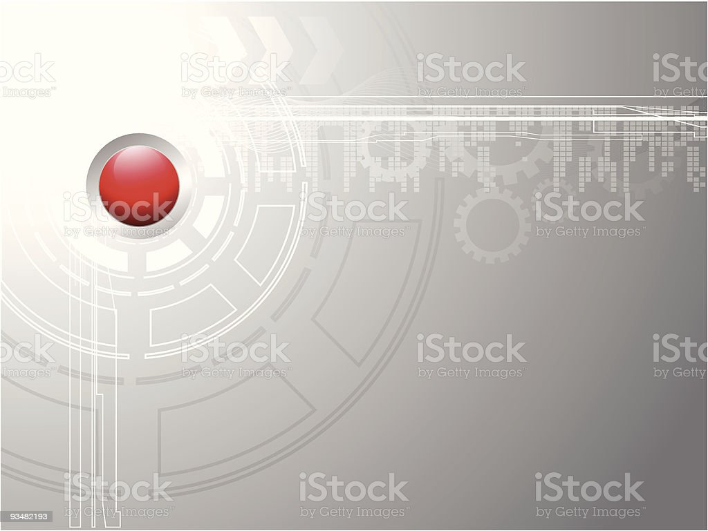 Gray technical background royalty-free stock vector art