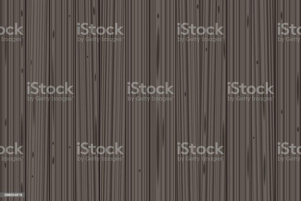 Gray Wood Planks vector art illustration