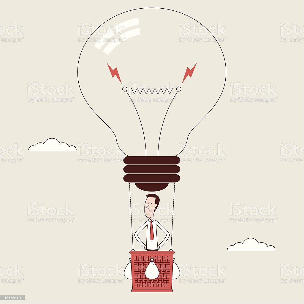 Great Idea royalty-free stock vector art