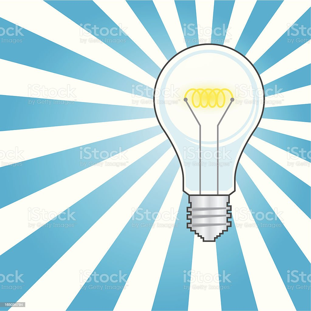 Great idea! royalty-free stock vector art