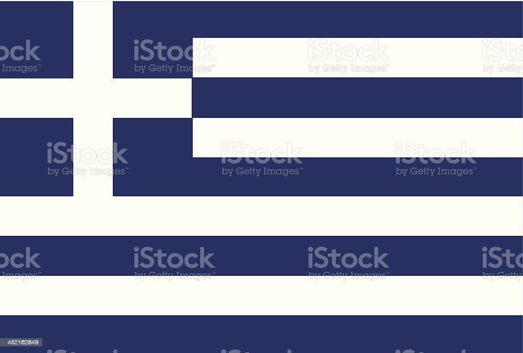 Greece flag royalty-free stock vector art