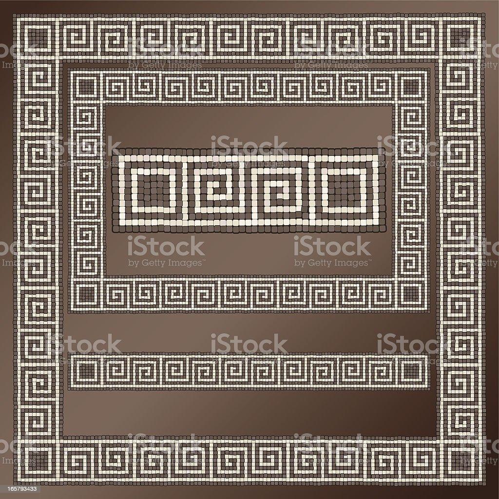 Greek Key Design royalty-free stock vector art