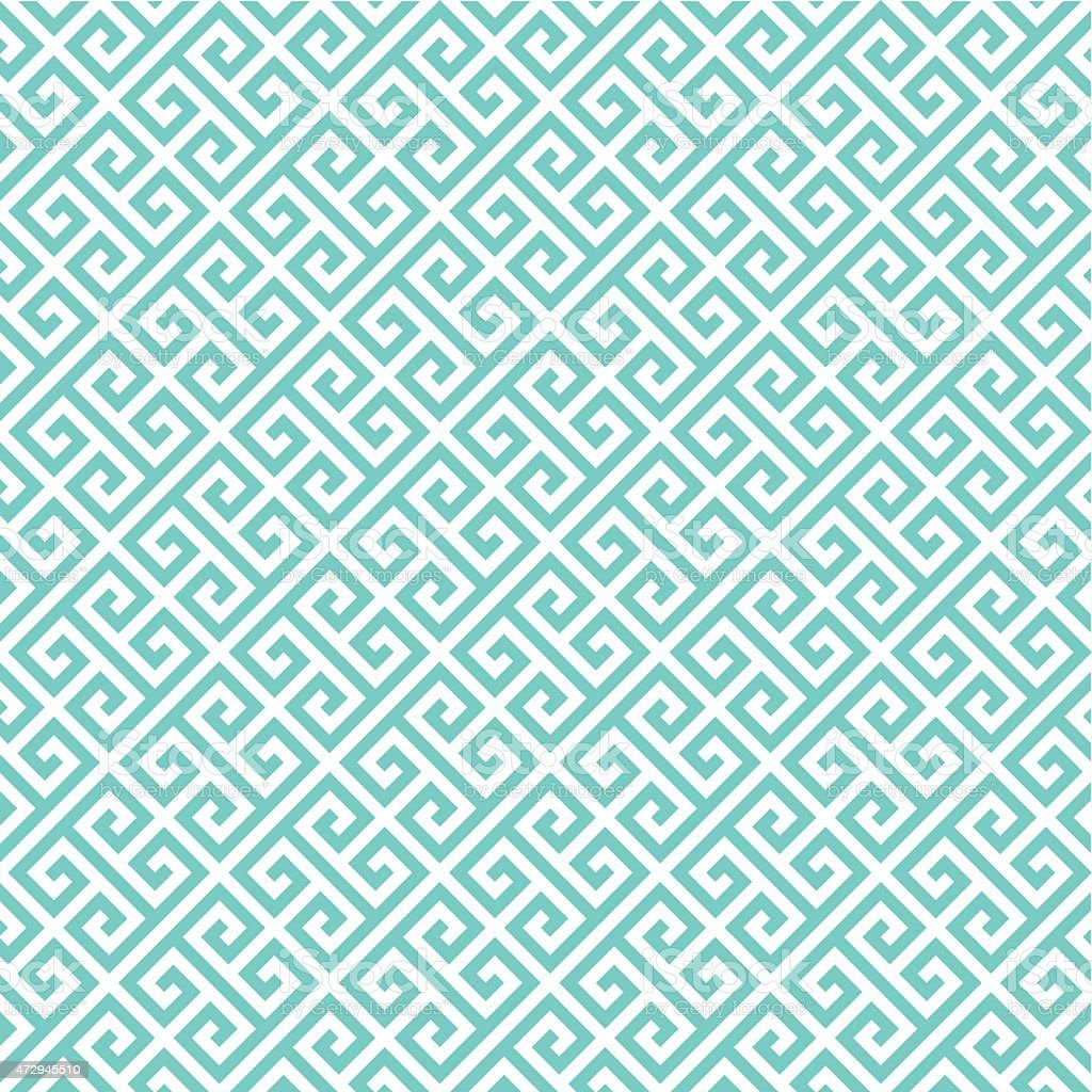 Greek key pattern background. Vintage vector pattern. vector art illustration