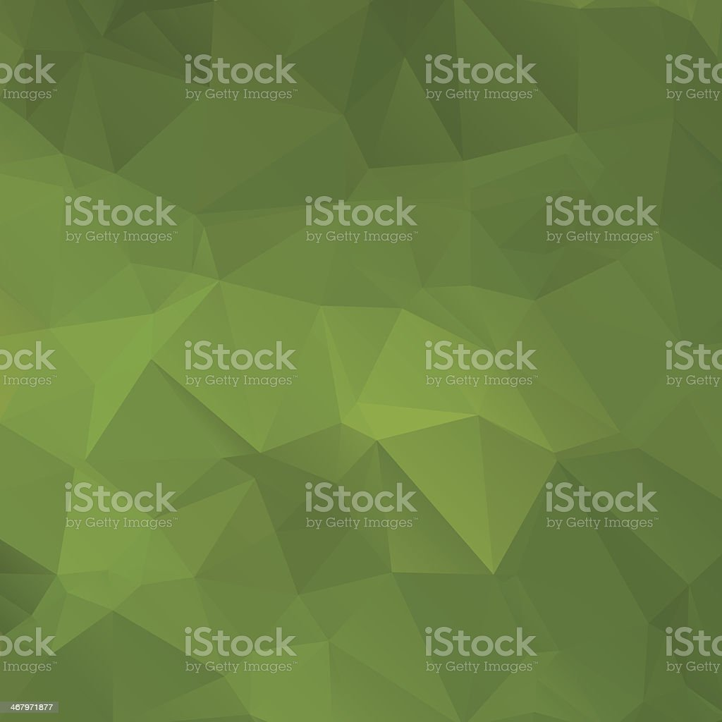 Green abstract background polygon royalty-free stock vector art