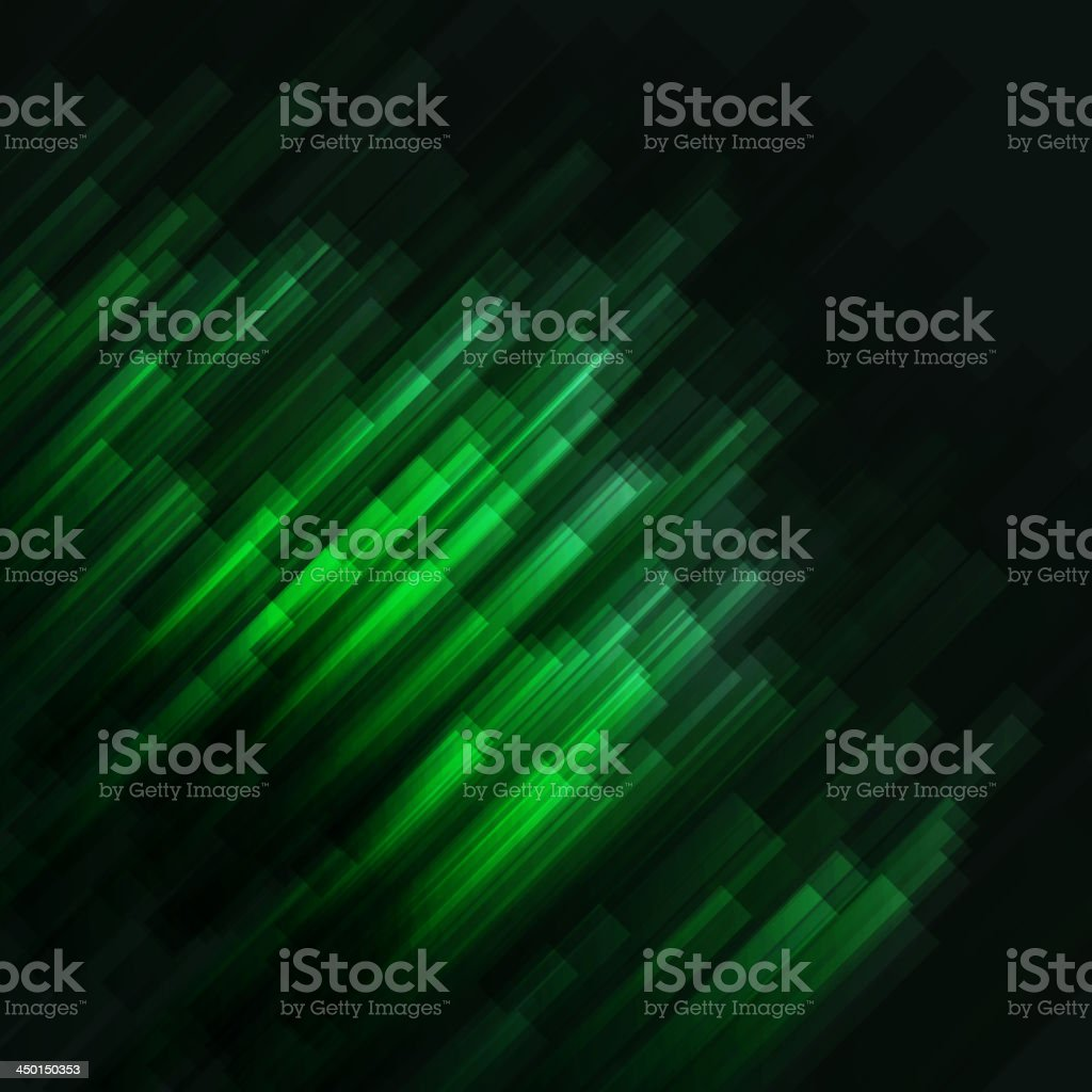 green abstract technology concept background vector art illustration