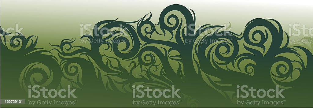 Green Background Strip royalty-free stock vector art