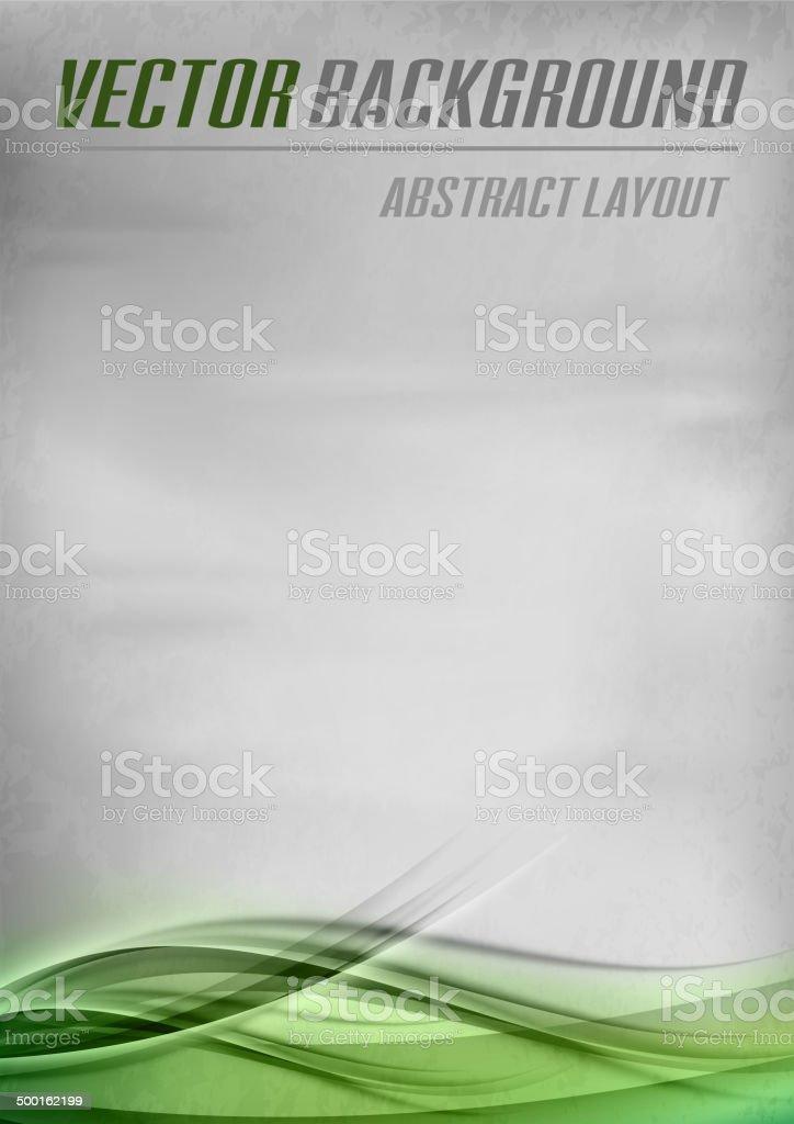 Green Background vector art illustration