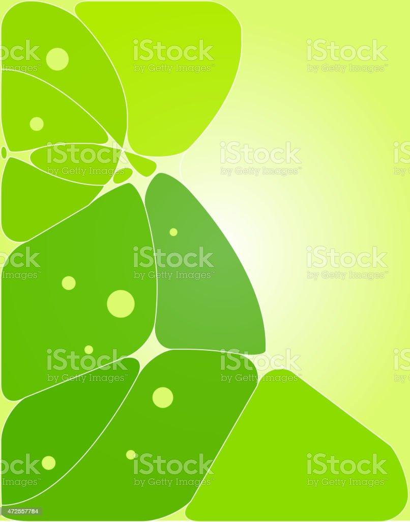 Concepto abstracto fondo verde illustracion libre de derechos libre de derechos