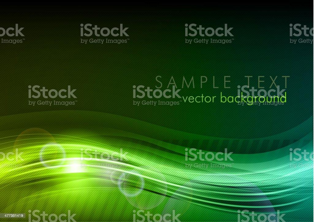 green dark background vector art illustration