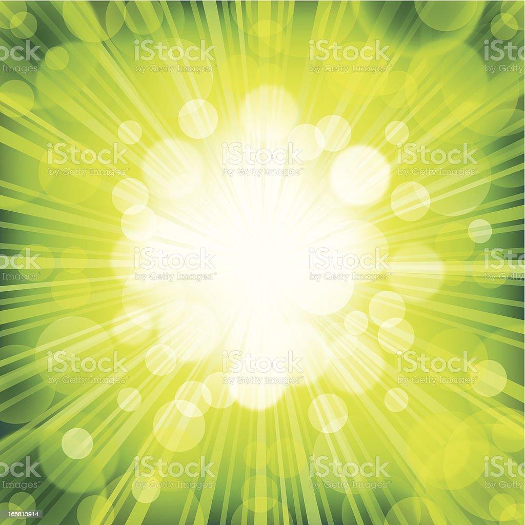 Green Defocus background royalty-free stock vector art