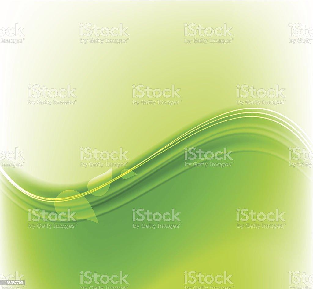 Green design royalty-free stock vector art