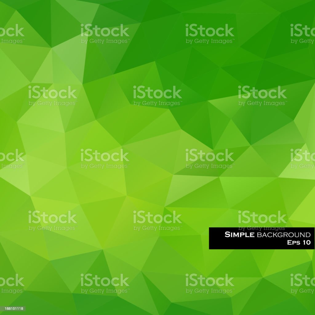 Green designed abstract background royalty-free stock vector art