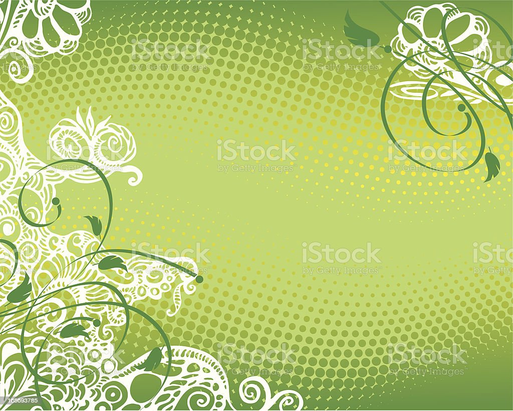 green doodle royalty-free stock vector art