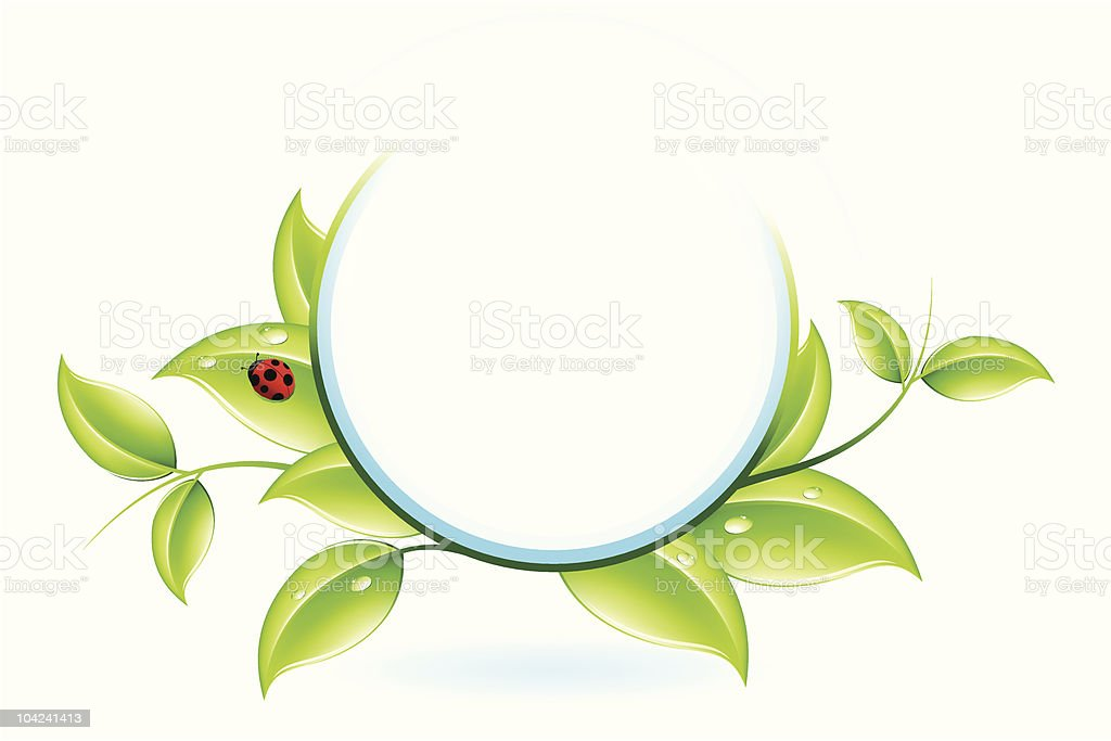 Green ecology royalty-free stock vector art