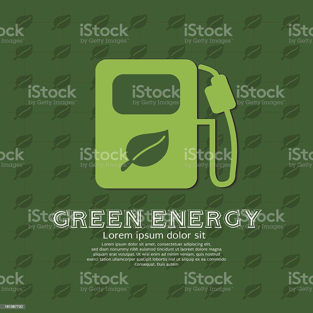 Green energy concept. royalty-free stock vector art