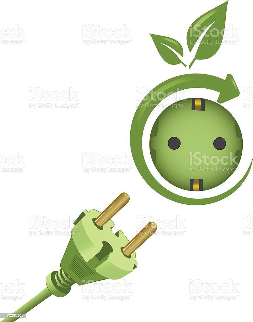 Green Energy royalty-free stock vector art