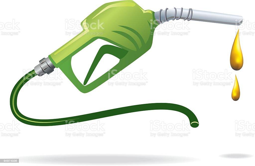 Green Fuel vector art illustration