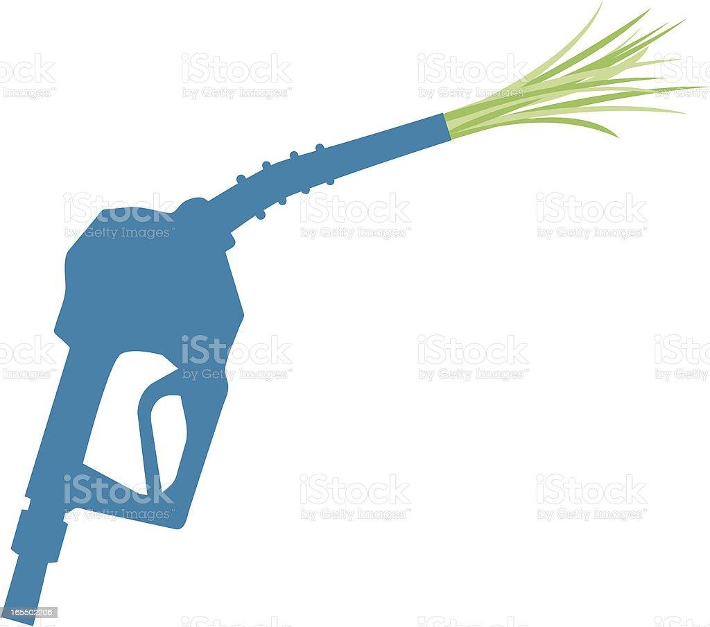 Green gas royalty-free stock vector art