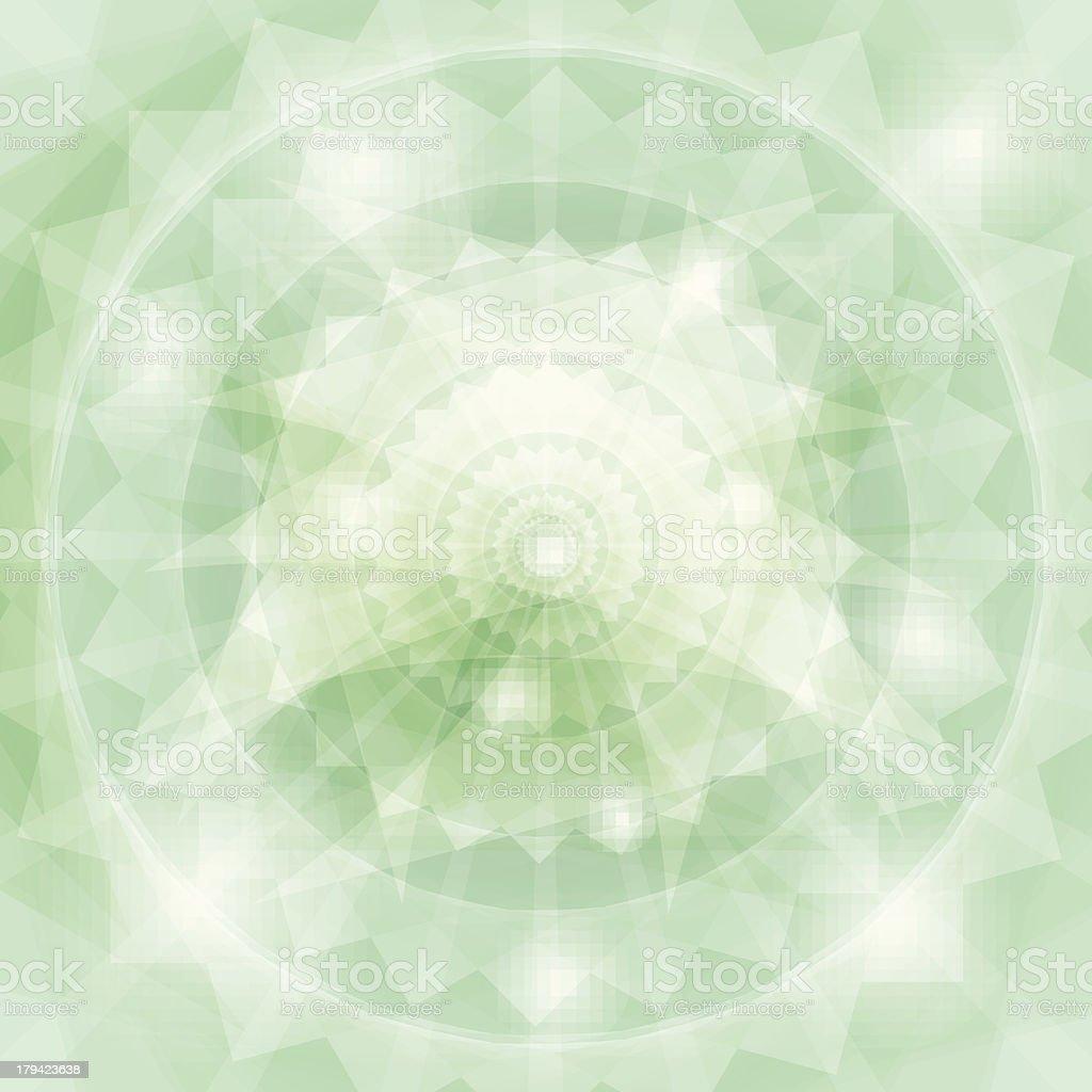 green Gemstone background royalty-free stock vector art