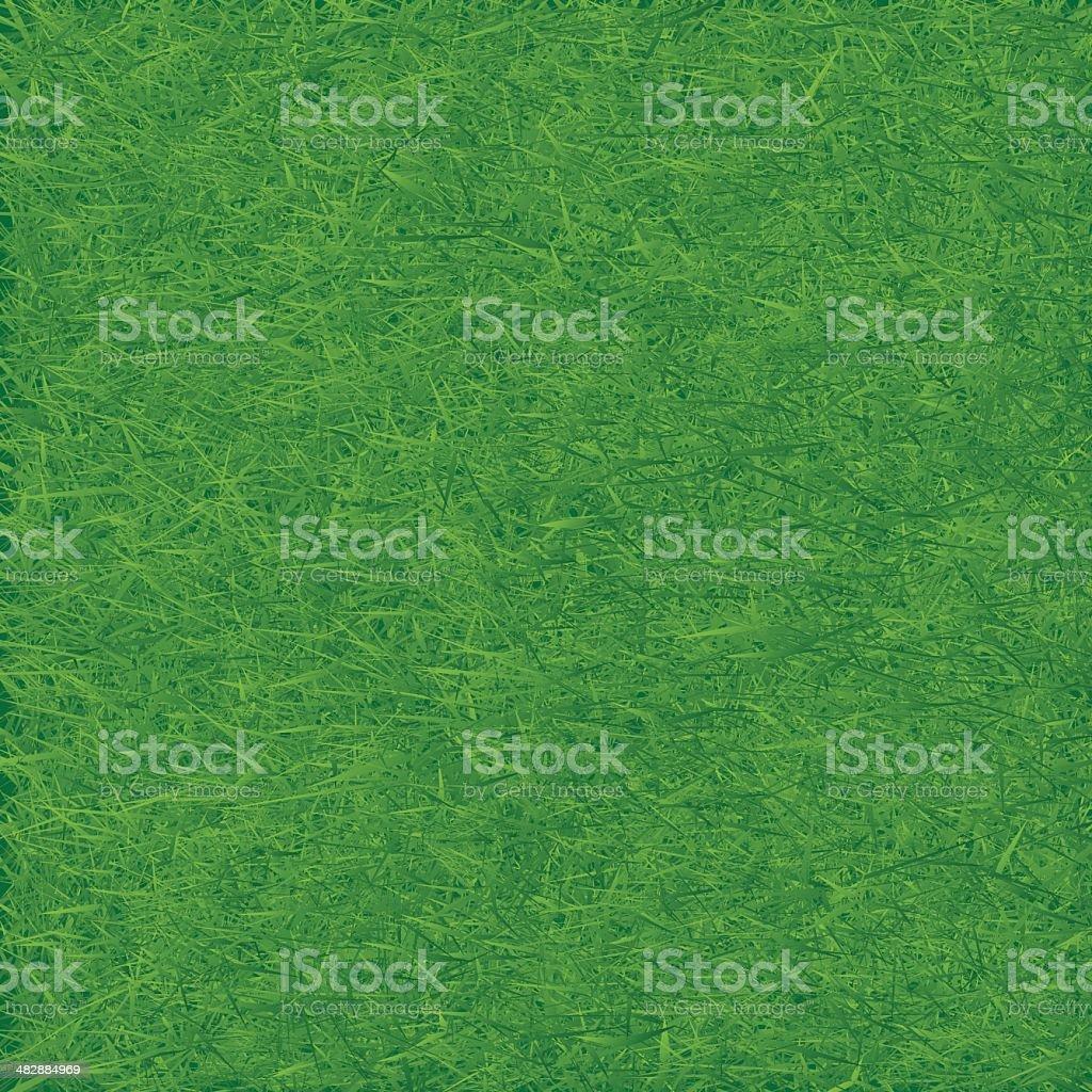 Green grass field. Seamless vector. vector art illustration