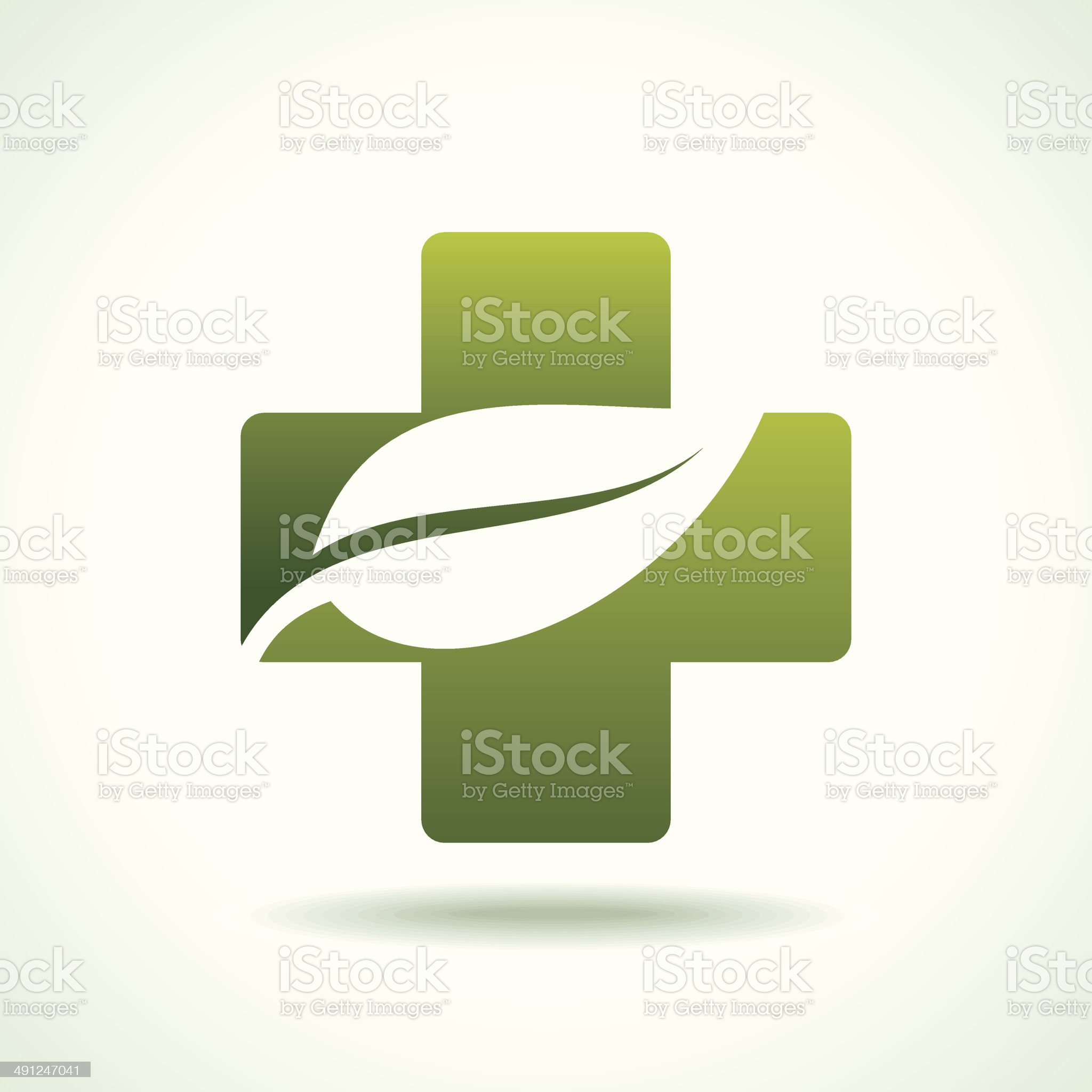 green health care Icon royalty-free stock vector art