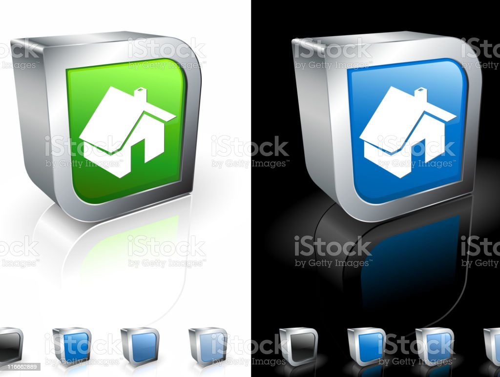 green house square royalty free vector art royalty-free stock vector art