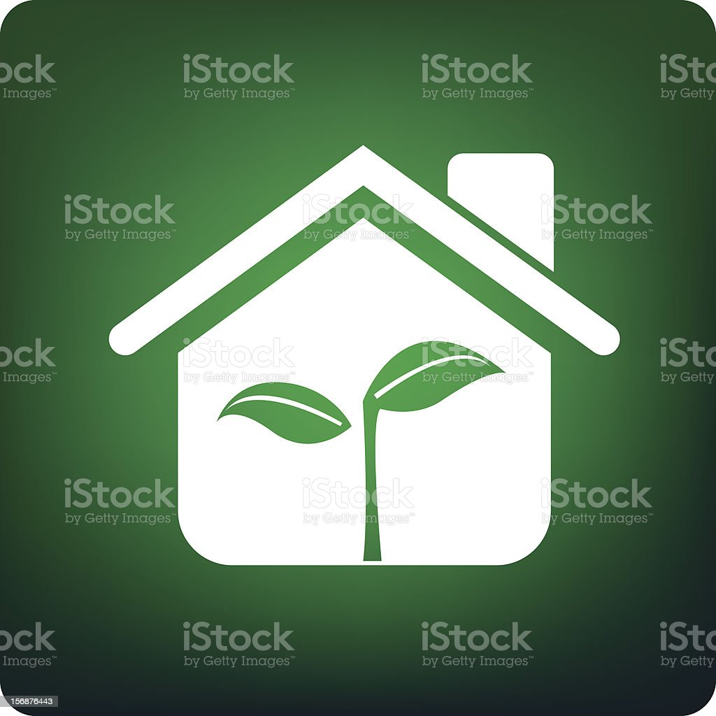green house royalty-free stock vector art
