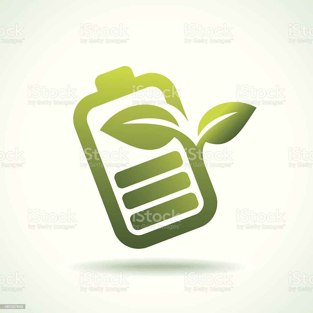 green icon depicting a remote tv royalty-free stock vector art