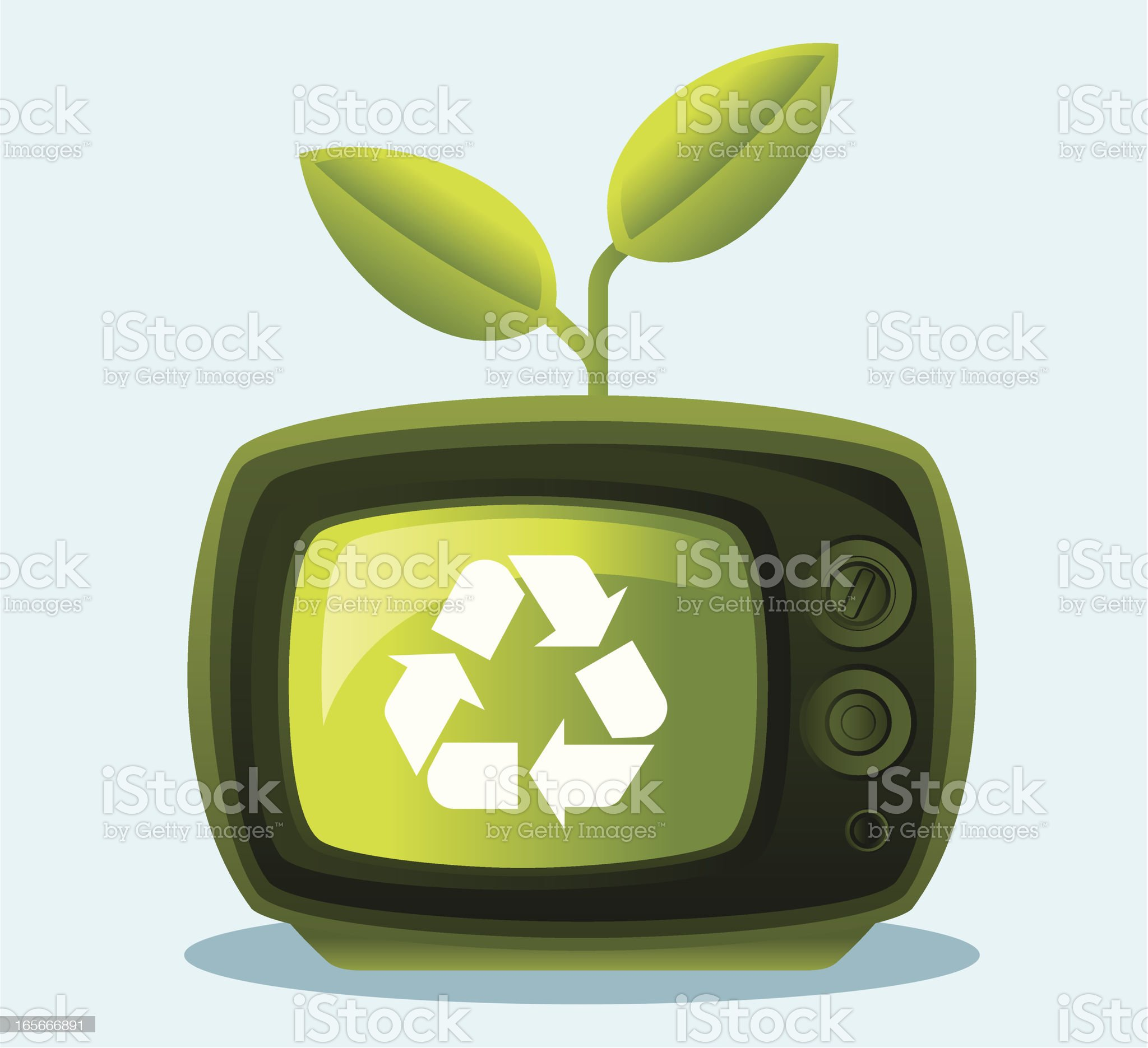 Green Information royalty-free stock vector art
