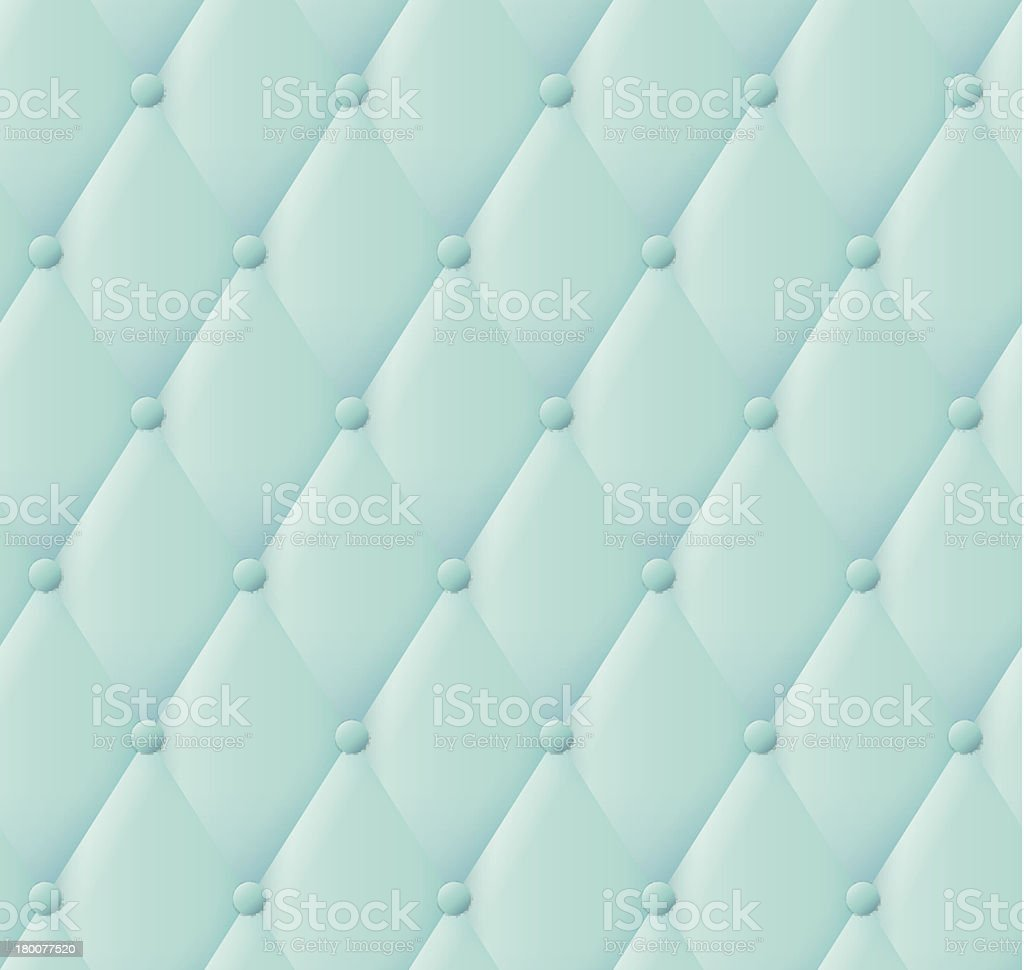Green leather upholstery pattern. royalty-free stock vector art