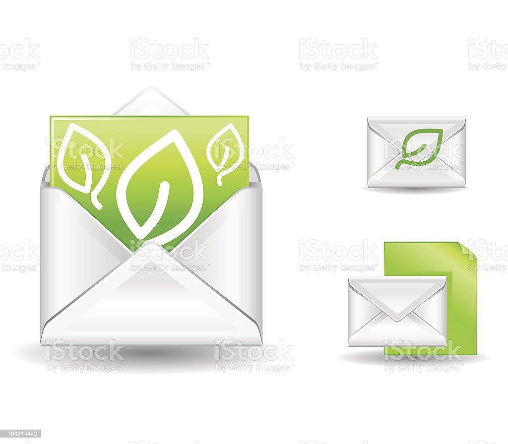 green letter royalty-free stock vector art