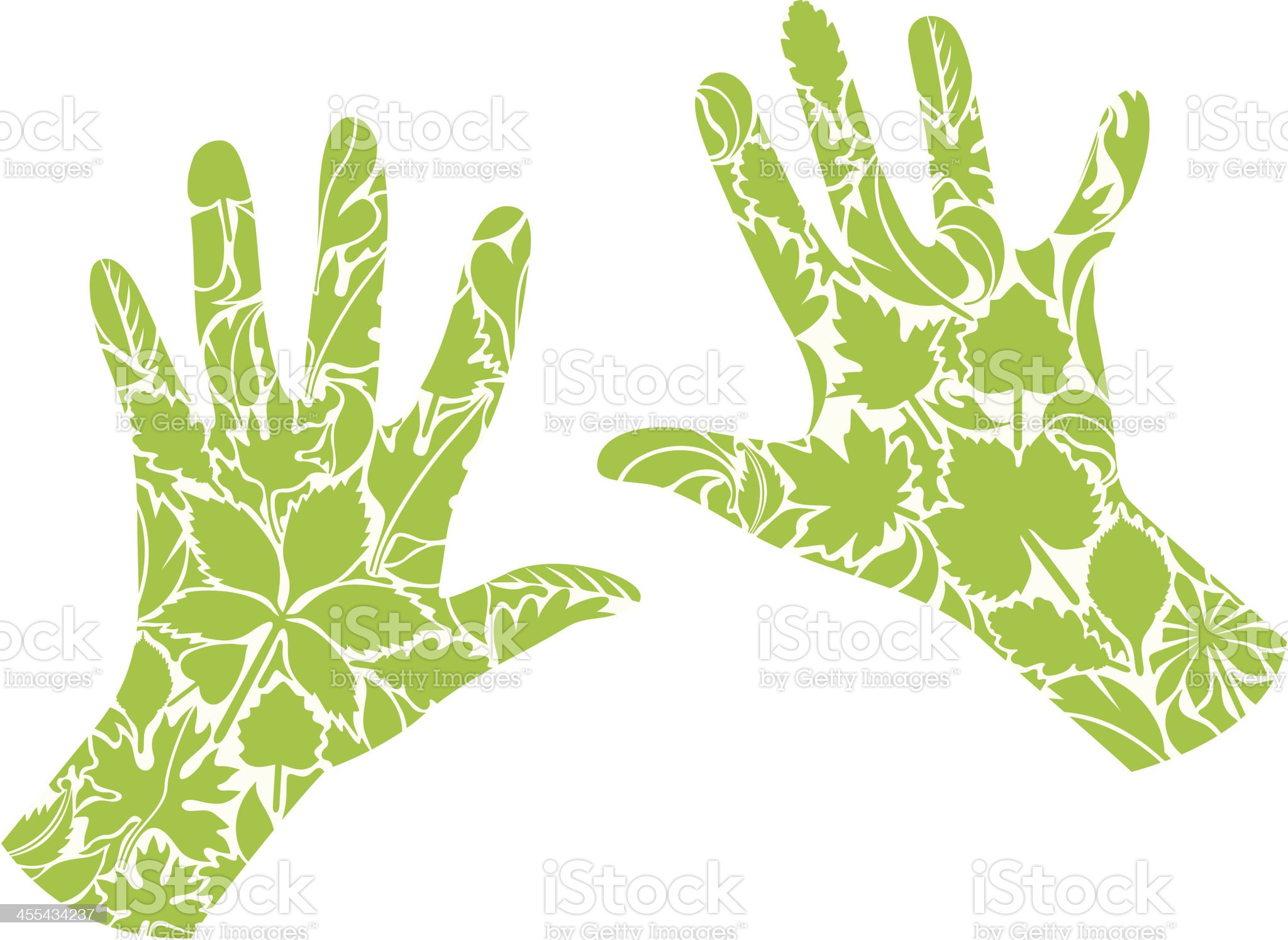 Green life royalty-free stock vector art