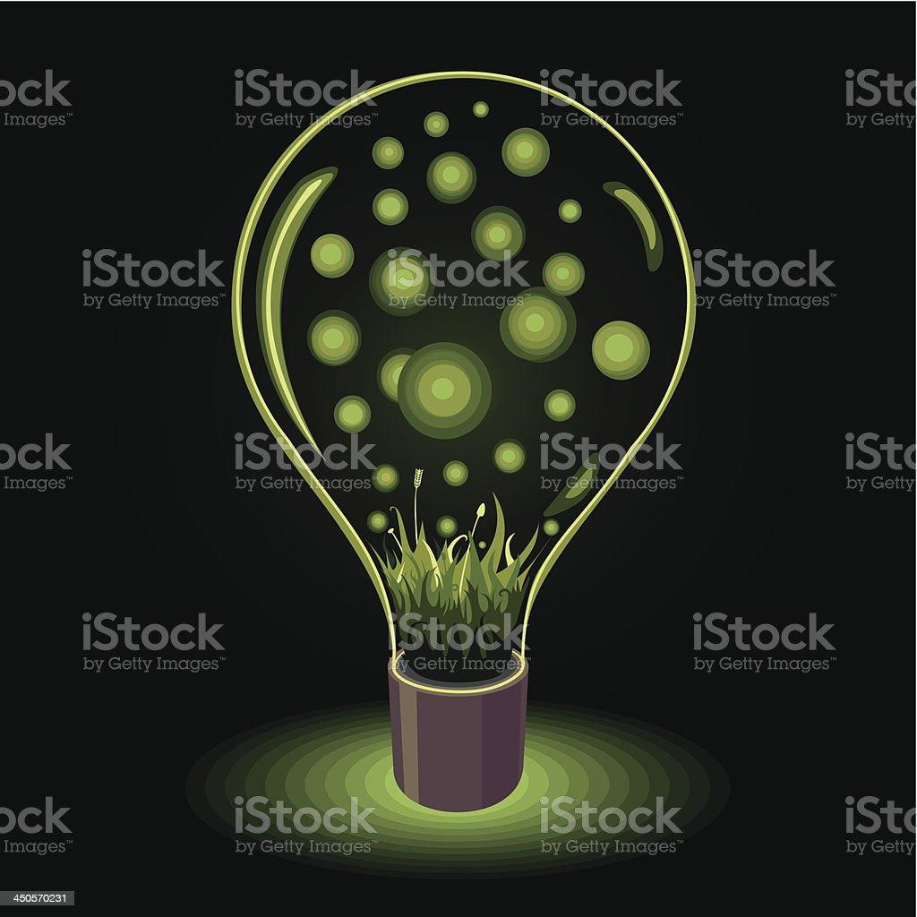 Green light royalty-free stock vector art
