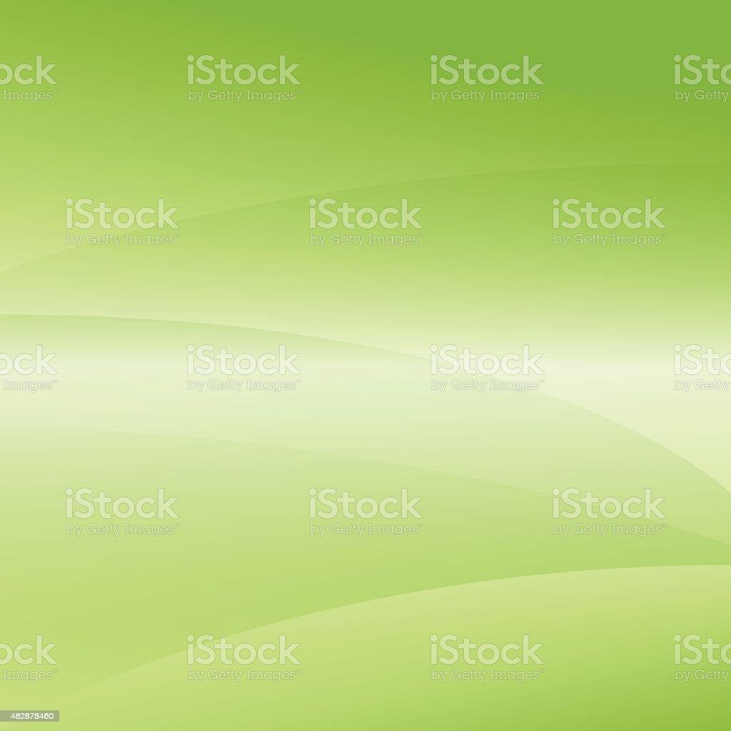 Green Light Wave Abstract Background vector art illustration
