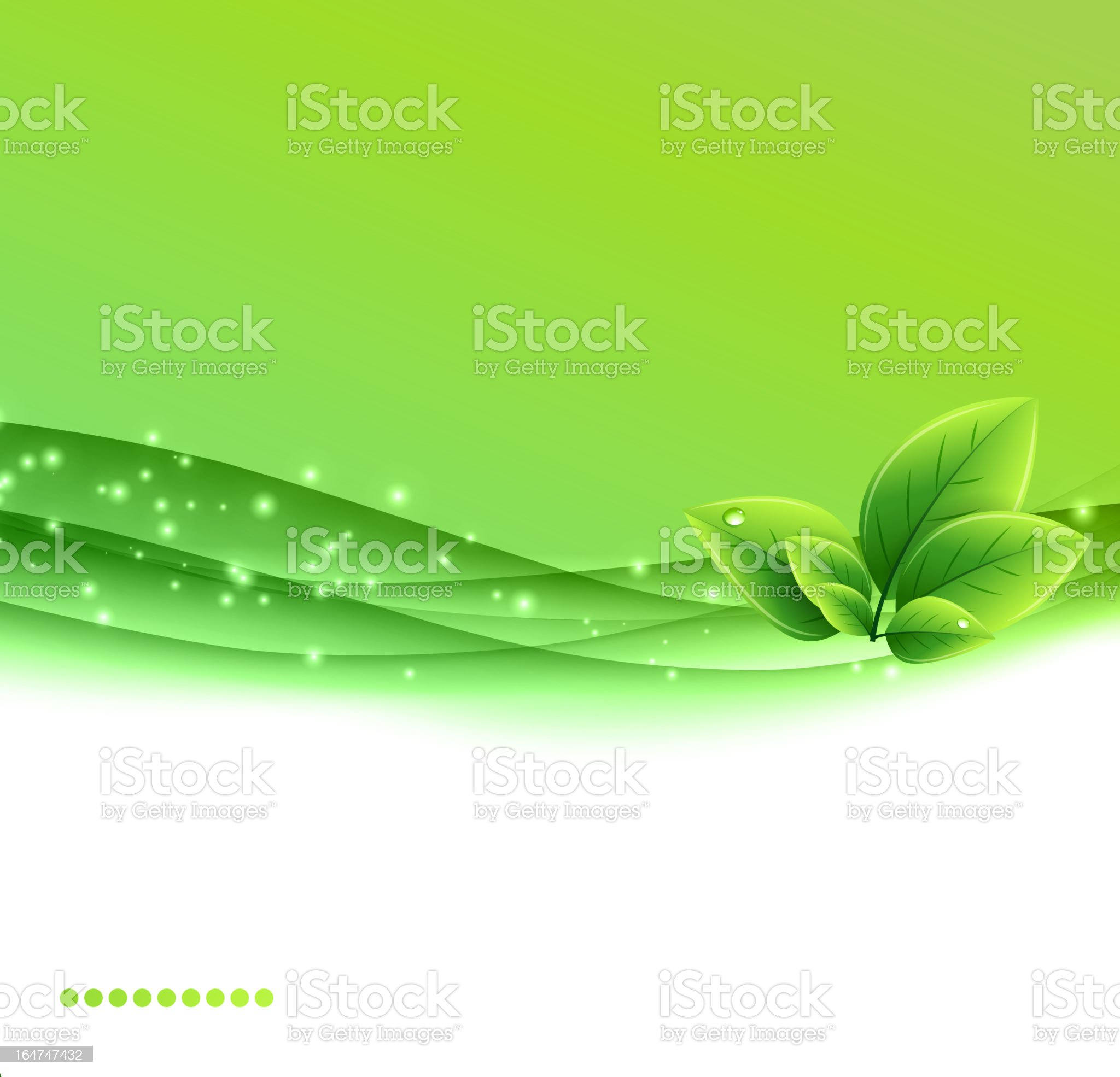 Green nature background royalty-free stock vector art