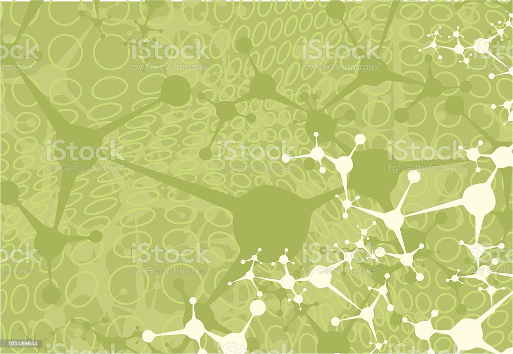 Green Network Background royalty-free stock vector art
