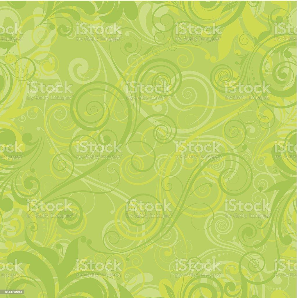 Green pattern royalty-free stock vector art
