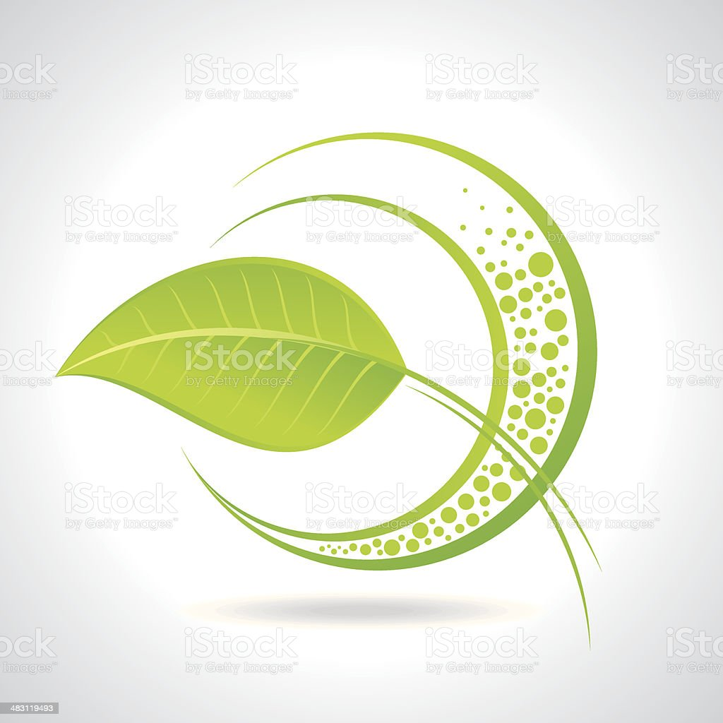 Green plant concept - Illustration royalty-free stock vector art