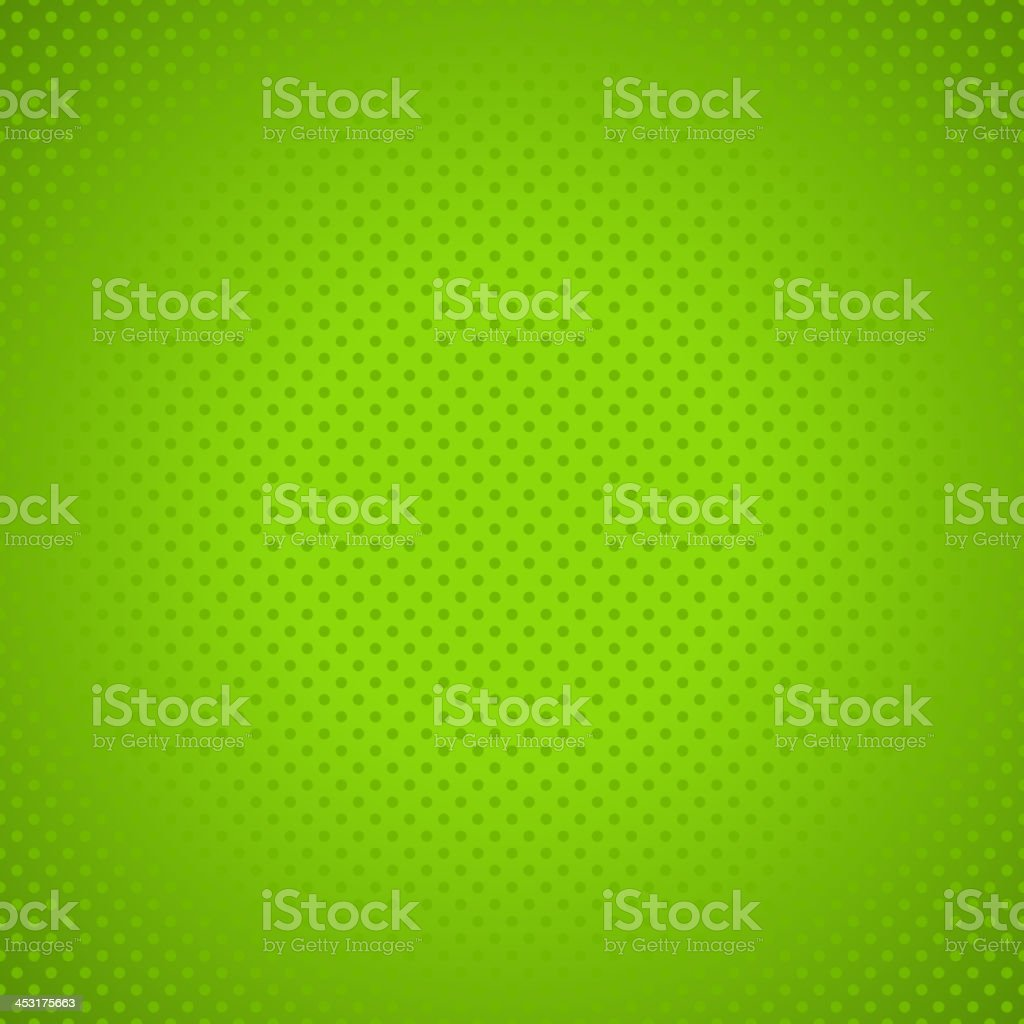 Green polka dot background royalty-free stock vector art