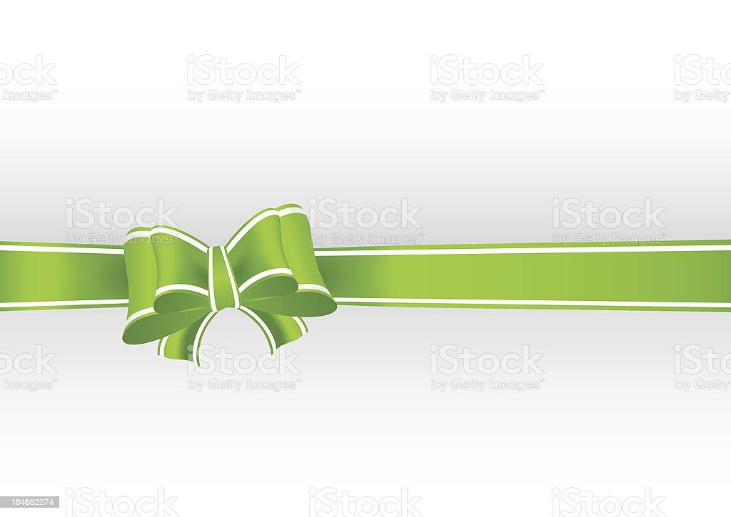 green ribbon royalty-free stock vector art