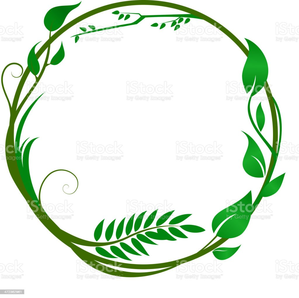 Green ring royalty-free stock vector art