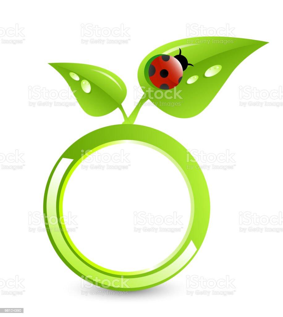 Green ring royalty-free stock vector art
