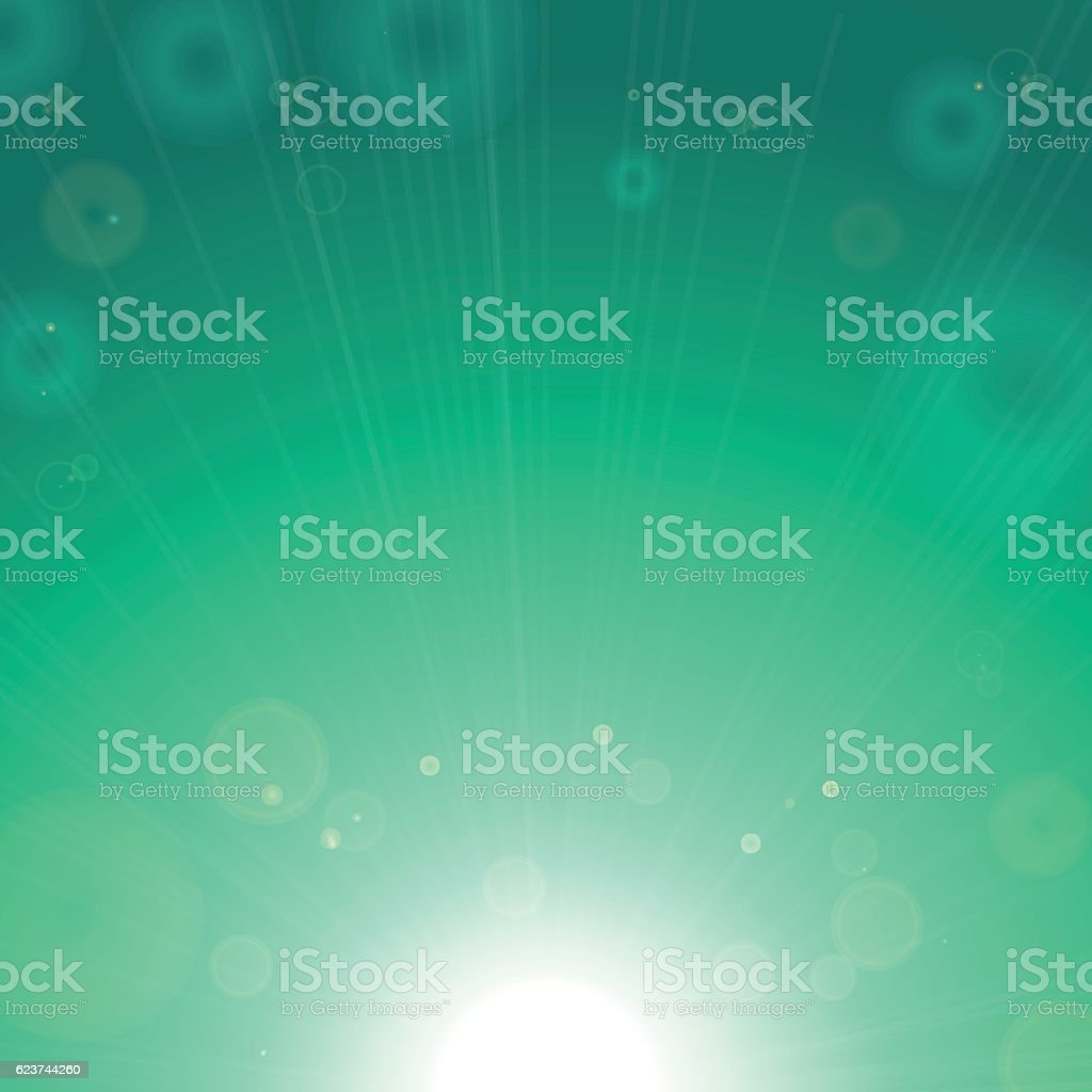 Fond vert brillant  stock vecteur libres de droits libre de droits