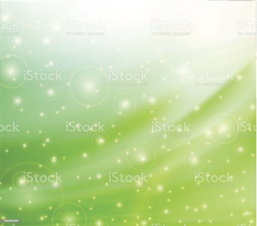 Green silk backgrounds royalty-free stock vector art