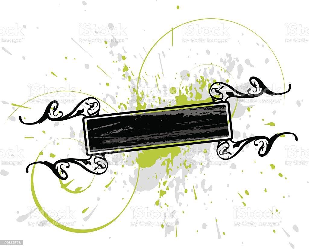 Green Splash royalty-free stock vector art
